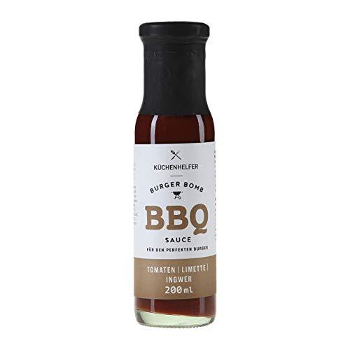 Burger Bomb BBQ Sauce 200ml < LIMETTE & INGWER