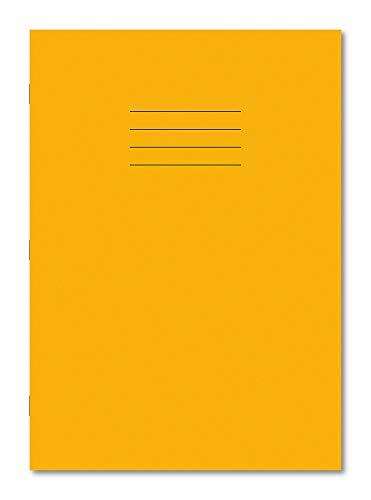 Hamelin Übungsbuch, A4, 8 mm, liniert mit Rand, 48 Seiten,gelb, (10er Pack)