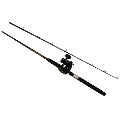 "Okuma Great Lakes Trolling Combo, 8'6"" Length, 2Piece Rod, Medium Auction, 2 BB Bearings"