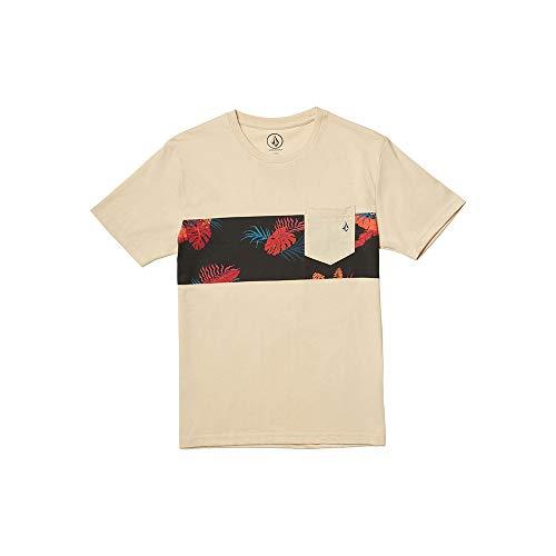 Volcom Kinder T-Shirt Patternation HTH Ss M weiß (White Flash)