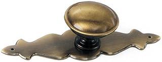 Laurey 22105 Celebration 1-1/4-Inch Diameter Knob, Antique Brass