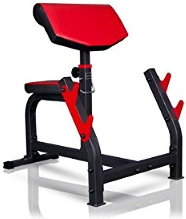 Panca per allenamento bicipiti - panca scott - marbo sport MS-L107