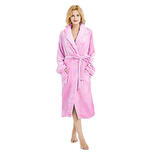 Image of Plush Soft Fleece Robes for Women - See More Colors & Styles