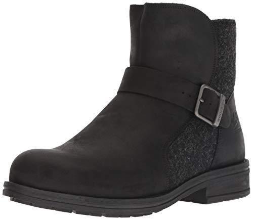 WOOLRICH Damen Pioneer Wrap modischer Stiefel, schwarz, 37 EU