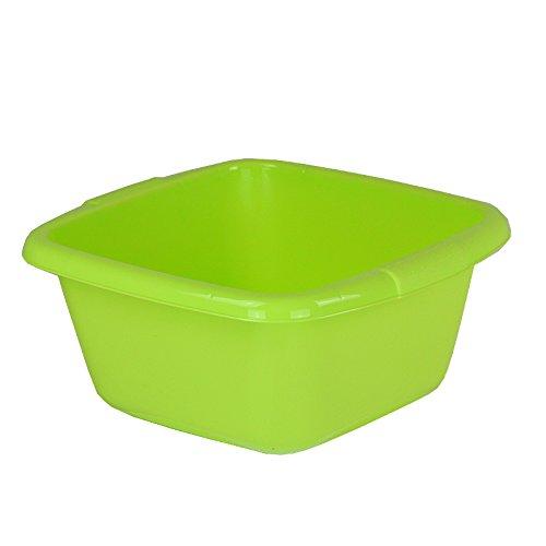 Curver Kunststoffschüssel 7L 32x30x14cm lime Schüssel Plastik Waschschüssel Schale quadratisch Behältnis