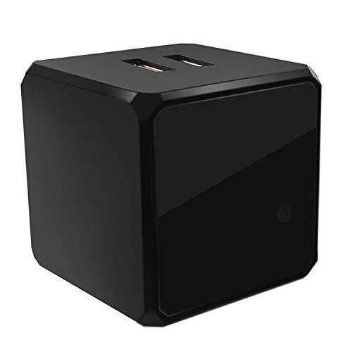 Total Invisible Covert 940nM IR Charging Cube with Light Sensor (6 High Power LED Illuminator Array) 30ft Range, 150 deg, 5VDC