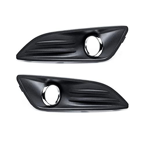 Clip de ajuste de la cubierta de ventilación de aire de la lámpara antiniebla del parachoques delantero del coche, Fog Light Assemblies accesorios de estilo automático para Ford Fiesta 2011-2016