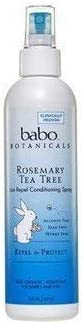 Babo Botanicals Cond Spray Lice Repl Rose 8 Fz product image