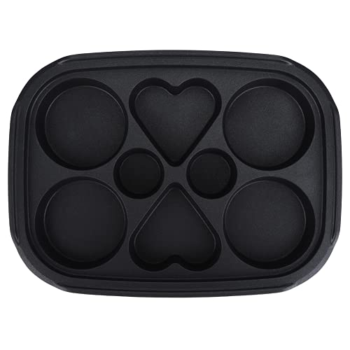 Cookie Sheet, Professional Durable Cake Pan, Food Grade Practical Barbecue Hot Pot Home Kitchen for Takoyaki(Multi-function disk)