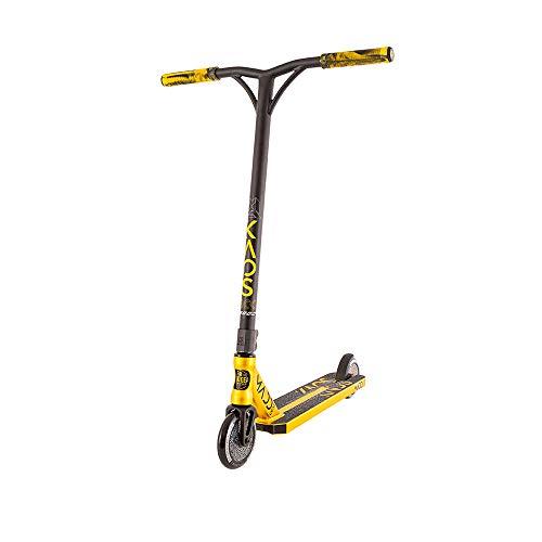 Madd Gear Kick KAOS 2020 Freestyle - Patinete para acrobacias, color negro y dorado