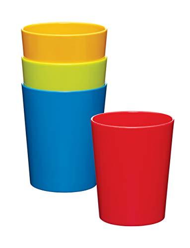 Kitchen Craft Miniamo MABTUMPK4 - Juego de 4 Vasos de melamina
