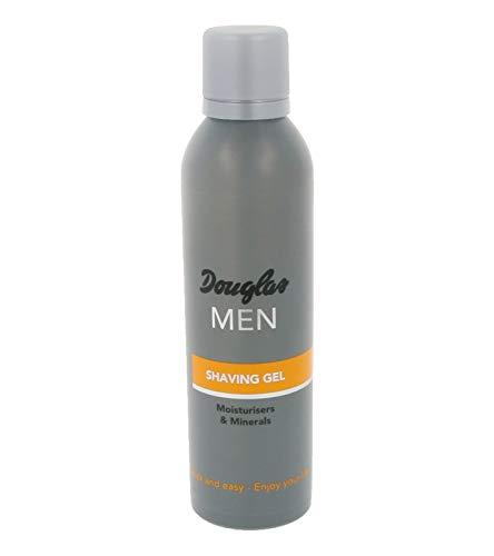 Douglas MEN feuchtigkeitsspendendes Herren Rasier-Gel 200ml Shaving Gel Gesichts-Gel