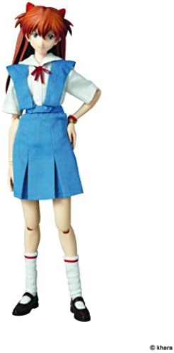 Medicom Evangelion  2.0 You Can (Not) Advance  Asuka Real Action Hero (School Uniform Version) (japan import)
