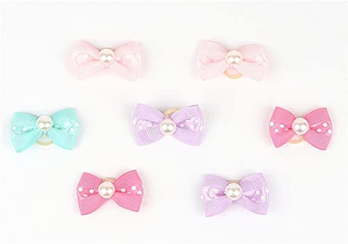 HTHAU Max 81% OFF Small Dogs Bows Popular products Hair Yorkshire Accessories Supplie Terrier