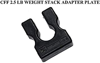 CFF 2.5 Lb Weight Stack Adapter Plate - Add on Weight