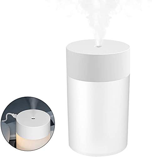 ZNBLLH 7 Prohibir El Uso De Aceites Esenciales, Purificador Aire Doméstico Portátil, con Luz Nocturna Led Colores, Apagado Automático Sin Agua