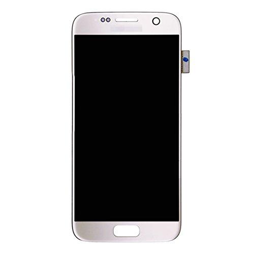 Spart onderdelen vervangen Nieuwe LCD-scherm + Touch Panel for Samsung Galaxy S7 / G9300 / G930F / G930A / G930V, G930FG, 930FD, G930W8, G930T, G930U (zwart) (Color : White)