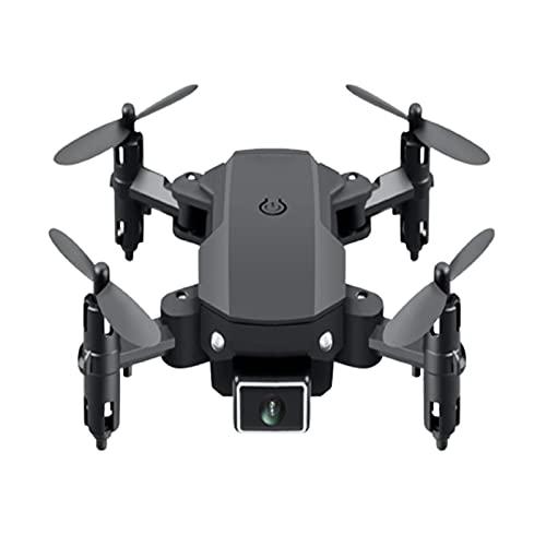 Doppia Fotocamera Pieghevole Drone Aereo 4K HD Quad-rotore 15 Minuti 360 modalità Senza Testa 10 * 12,5 * 3 cm Nero
