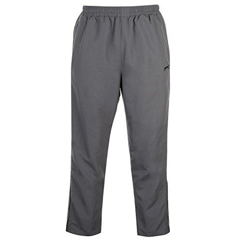 Slazenger Woven - Pantalones de chándal para hombre, color gris, talla XX...