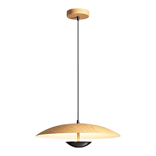 N/Z Home Equipment Postmodern Minimalist Design Chandelier Nordic Creative Restaurant Bar Bedside Wood Grain Metal Chandelier