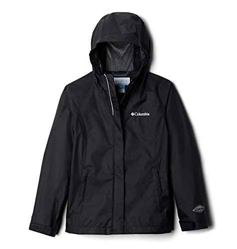 Columbia Girls' Big Arcadia Jacket, Black, Medium