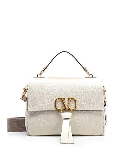 Luxury Fashion | Valentino Garavani Dames TW2B0F76MVVI16 Wit Leer Handtassen | Seizoen Permanent
