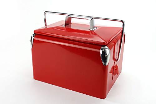 Retro-Kühlbox Daytona 7 Rot | Artikelnummer: 1021001