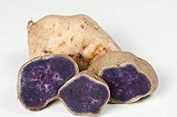 Petsdelite White Skin Purple Yam, japanische lila Kartoffeln oder japanische Süßkartoffeln (4 Pfund)