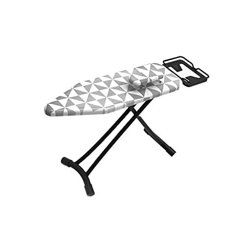 Tabla de planchar Tablero de planchado plegable para el hogar con restaurante de hierro de vapor telescópico, placa de planchado vertical grande para coser sala de artesanía mesa de planchar portátil