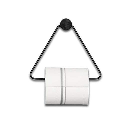Zwarte Wc Roll Houders Tissue Rolhouder Voor Wc Keuken Rolhouder, Folie Houder Toiletpapier Houder Toiletrolhouder En Handdoek Ring Set black