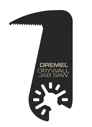 Dremel MM435 Drywall Jab Saw Oscillating Tool Accessory, Black