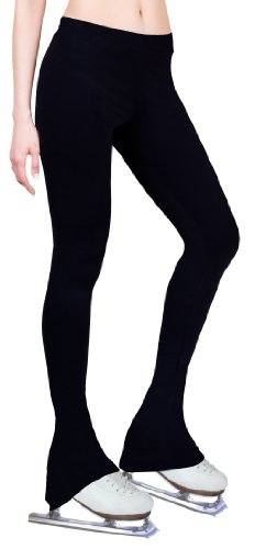 NY2 SPORTSWEAR Figure Skating Practice Pants - Black (Adult Small)