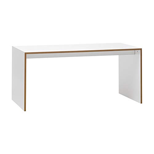 Freistell Tisch 160x80cm, weiß LxBxH 160x80x74cm
