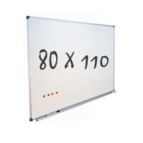Vivol Eco Magnetic Whiteboard 80x110   Aluminium Rahmen   Magnettafel Whiteboardwand Magnetwand   Stiftablage   14 Größen   Magnetisch und Beschreibbar