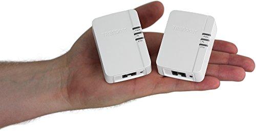 TRENDnetコンセントに差し込むだけの簡単PLCキットパワーライン200AVNanoPLCアダプターキット/Powerline200AVNanoAdapterKit[TPL-308E2K]