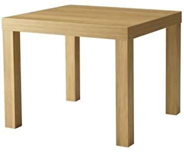 Roble puro mesa de chapa de madera cm x 54.99 x 54.99 45.01,Brown
