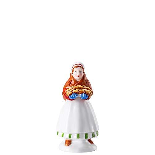Hutschenreuther Sammelserie 2020 Weihnachtsbäckerei Marktfrau