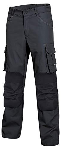 Uvex Perfekt Workwear Arbeitshose - Bundhose m. Kniepolster-Taschen aus Cordura - Arbeitshosen f. Herren - Schwarz - Gr. 50