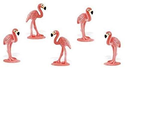 Safari Ltd. - Good Luck Minis - Glücksminis - Flamingos 5 Stück