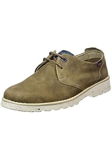 CALLAGHAN Mar - Zapatillas de cordones Derby para hombre Beige Size: 41 EU