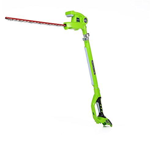 GreenWorks 22242 Cordless Pole Hedge Trimmer