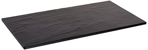Black Faux Slate Serving Board