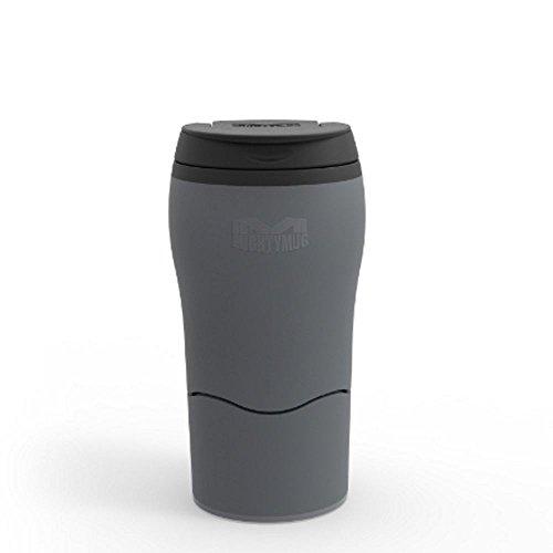 Mighty Mug Dexam NE Tombe Pas Solo Cup Bouteille de 320 ML en Gris Froid