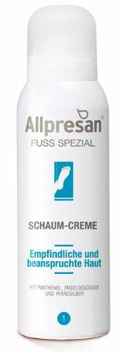 Allpresan Fuß Spezial Nr 1 Schaum-Creme, 125 ml pflegt beanspruchte und gereizte Füße