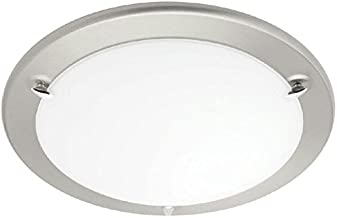 Nova 15W Dimmable Warm White Oyster Day LED Light 3000K