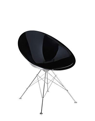 Kartell Ero/S/stoel, plastic, wit, 70 x 79 x 62 cm