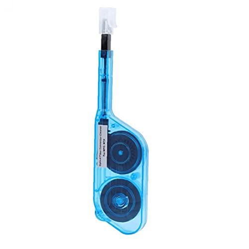 Palillo de Vidrio de Fibra de Vidrio, Limpiador de Fibra óptica Un Clic en MPO MTP Conector de Fibra óptica Adaptador Fin FIT Fear Face Pluma