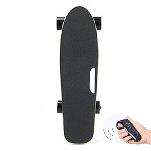 SSDT Patinete eléctrico todoterreno con mando a distancia inalámbrico para adultos y niños, tabla de pescado pequeña
