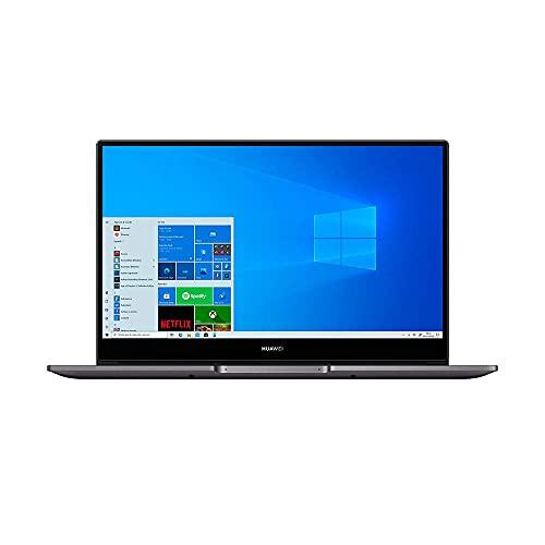 HUAWEI NobelB-WAH9A MateBook D 14, Full View 1080P FHD Ultrabook Laptop, Intel Core i5-10210U, RAM 8GB, SSD da 256GB, Windows 10 Home, Gray