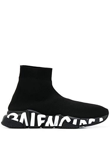 Balenciaga Luxury Fashion Damen 605942W05GE1006 Schwarz Polyamid Slip On Sneakers | Herbst Winter 20